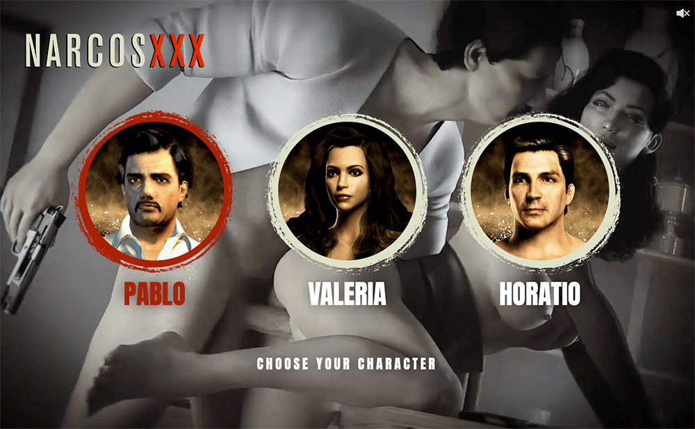 Narcos XXX Sex Game