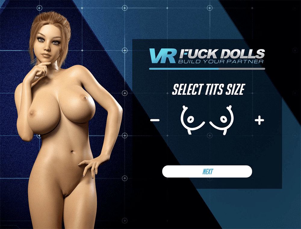 VR Fuck Dolls choose tits size