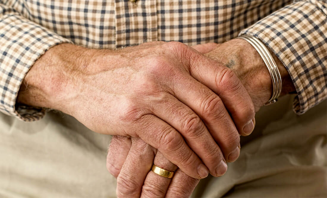 Osteoarthritis pain in the hands